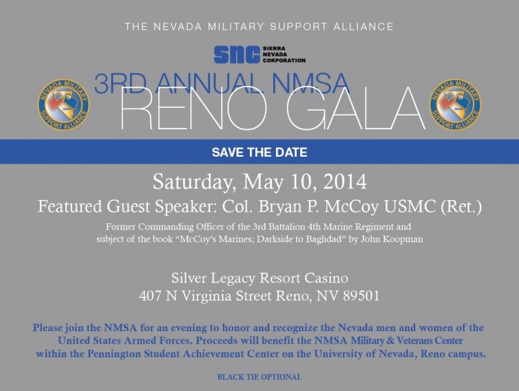 3rd annual NMSA gala reno