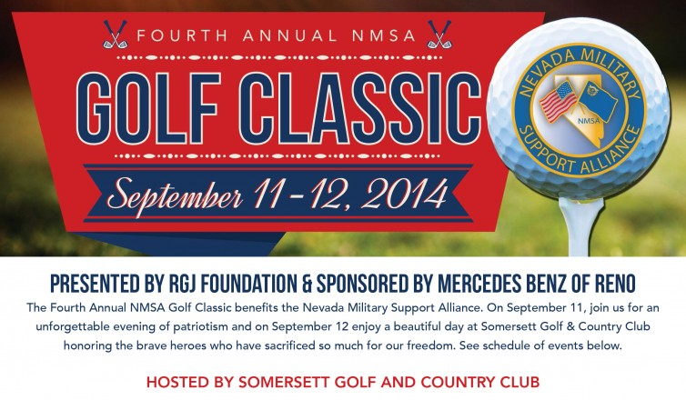 Nevada Military Support Alliance Golf Classic Save the Date
