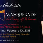 NV Masquerade - Save The Date