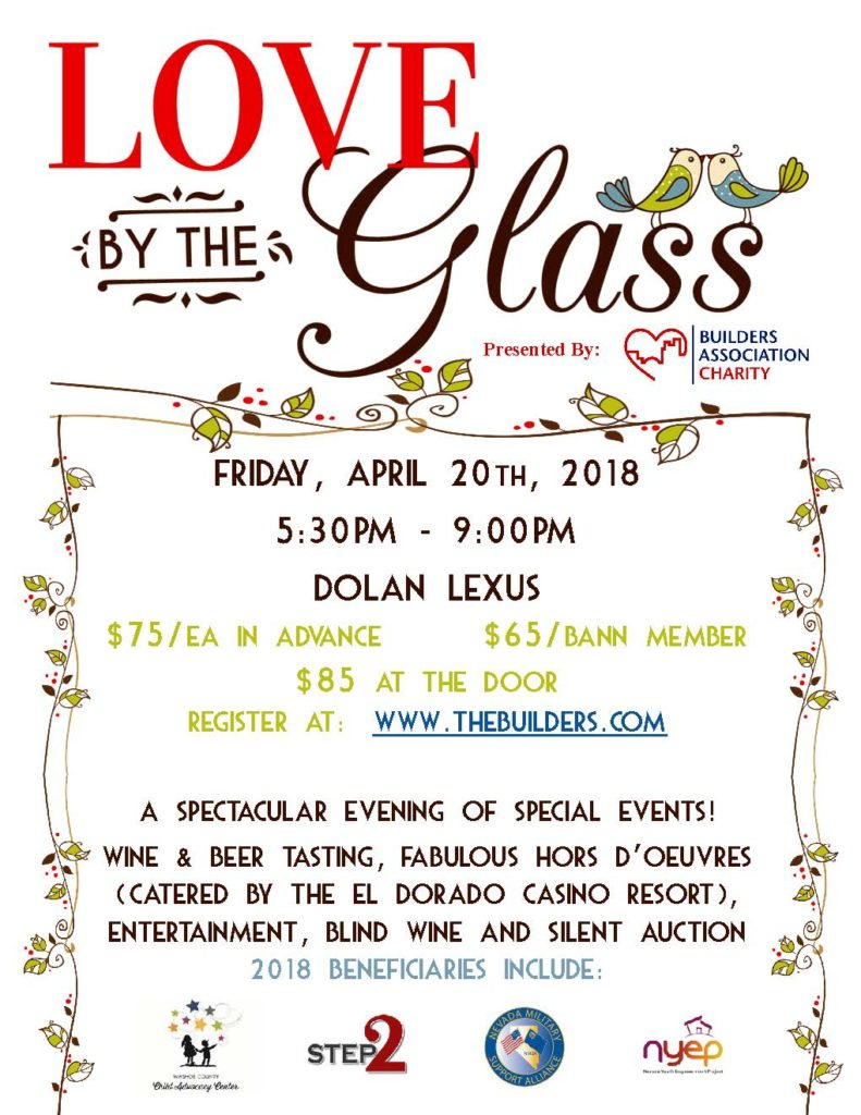 Love By The Glass 2018 Flyer