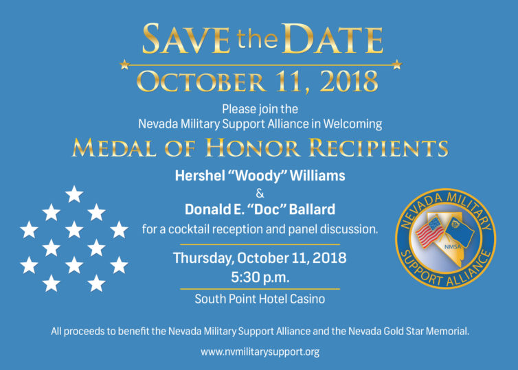 Medal of Honor Recipients - Save The Date
