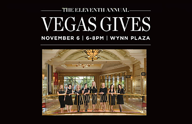 Save the Date –  Vegas Gives – Nov. 6, 2019