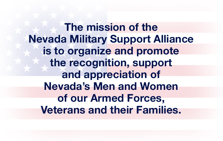 The mission of the Nevada Military Support Alliance
