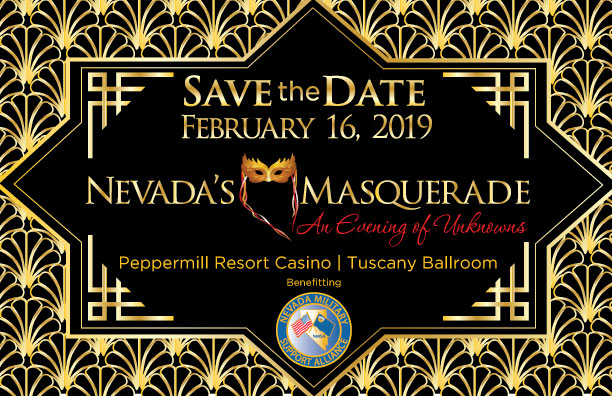NV Masquerade 2019 Save The Date
