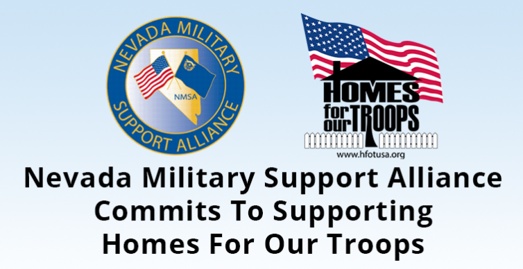 Homes For Our Troops and NV Military Support Alliance
